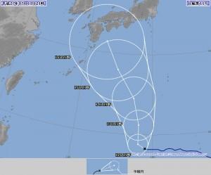 台風11号