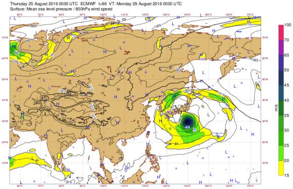 台風10号ヨーロッパ